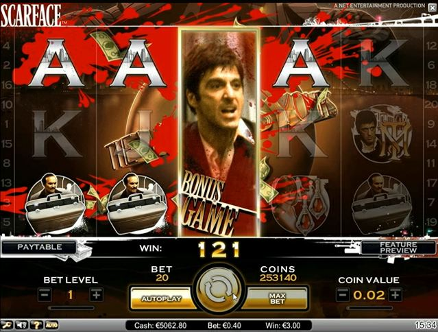 scarface freespins